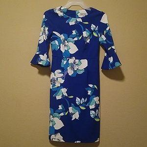 Flower print dress size 8
